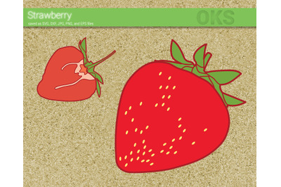 19+ Strawberry Svg * Strawberry Monogram Cut File PNG