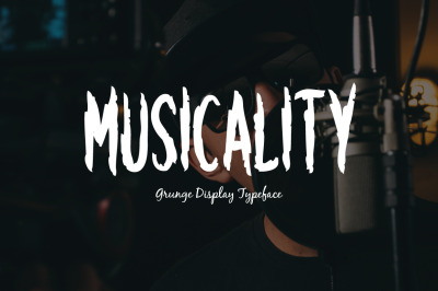 Musicality Typeface