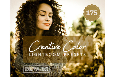 Creative Color ProMobile Presets (Adroid and Iphone/Ipad)