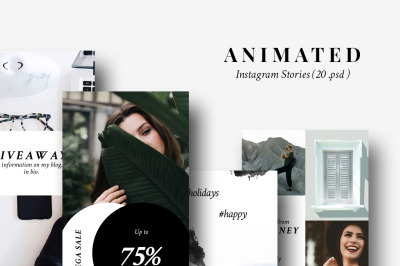 ANIMATED Instagram story - Lifestyle & Fashion