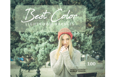 100 Best ColorMobile Presets (Adroid and Iphone/Ipad)