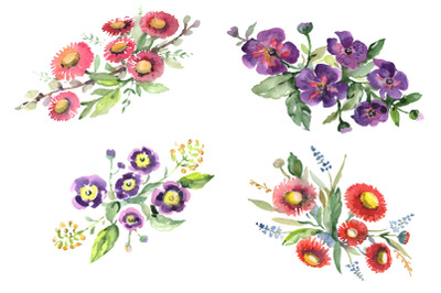 Bouquet Refinement Watercolor png