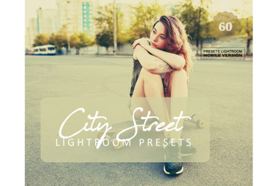 60 City Street Mobile Presets (Adroid and Iphone/Ipad)