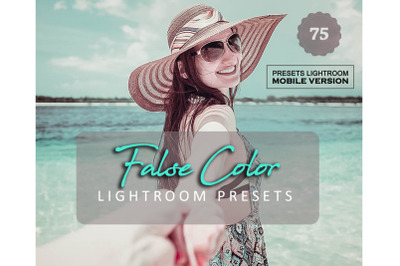75 False Color Mobile Presets (Adroid and Iphone/Ipad)