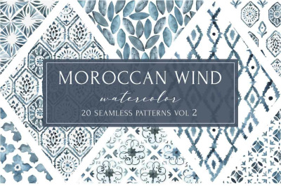MOROCCAN WIND vol2 seamless pattern