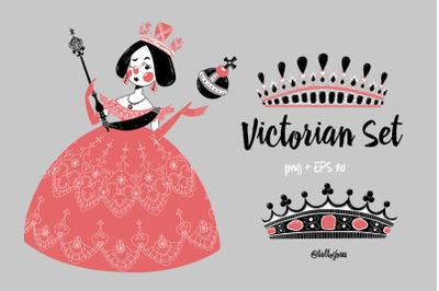 Victorian set