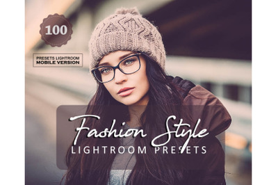 100 Fashion StyleMobile Presets (Adroid and Iphone/Ipad)