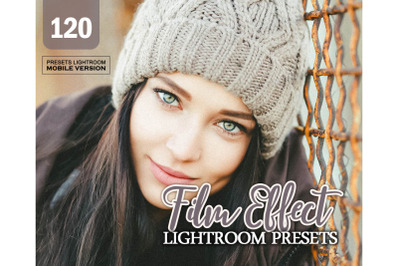 120 Film EffectMobile Presets (Adroid and Iphone/Ipad)