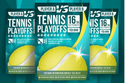 Tennis Sport Flyer