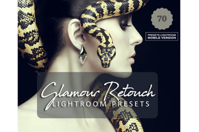 70 Glamour RetouchMobile Presets (Adroid and Iphone/Ipad)