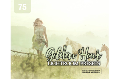 75 Golden Hour EffectMobile Presets (Adroid and Iphone/Ipad)