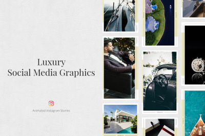 Luxury Animated Instagram Stories
