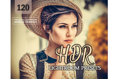 120 HDRMobile Presets (Adroid and Iphone/Ipad)