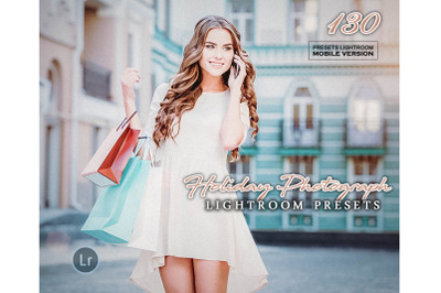 130 Holiday PhotographMobile Presets (Adroid and Iphone/Ipad)