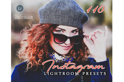 110 InstagramMobile Presets (Adroid and Iphone/Ipad)