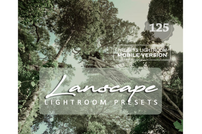 125 Lanscape CinemaMobile Presets (Adroid and Iphone/Ipad)