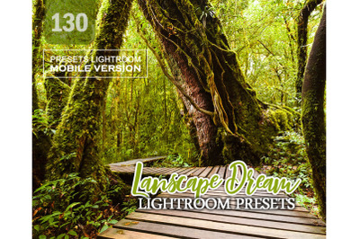 130 Lanscape DreamMobile Presets (Adroid and Iphone/Ipad)