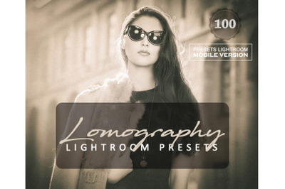 95 Lomography Mobile Presets (Adroid and Iphone/Ipad)