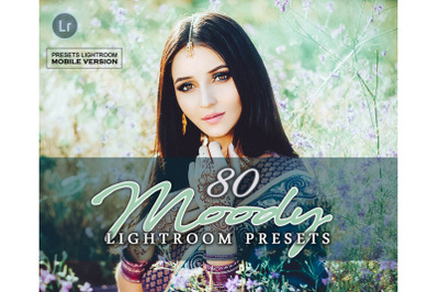 80 MoodyMobile Presets (Adroid and Iphone/Ipad)