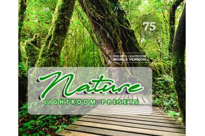 75 NatureMobile Presets (Adroid and Iphone/Ipad)