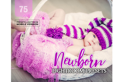 75 Newborn Mobile Presets (Adroid and Iphone/Ipad)