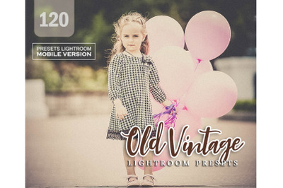 120 Old Vintage Mobile Presets (Adroid and Iphone/Ipad)