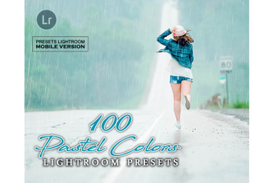 100 Pastel Colors Mobile Presets (Adroid and Iphone/Ipad)