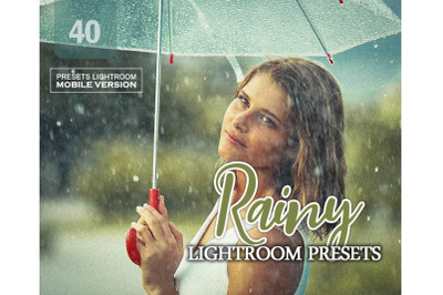 40 Rainy Mobile Presets (Adroid and Iphone/Ipad)