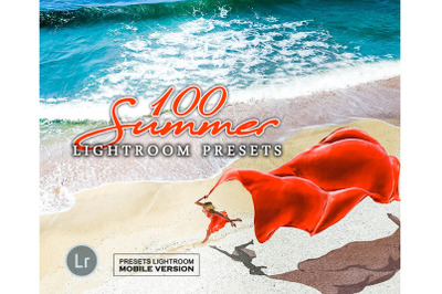 100 Summer Mobile Presets (Adroid and Iphone/Ipad)