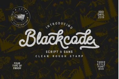 Blackcode - vintage duo - extra illustration
