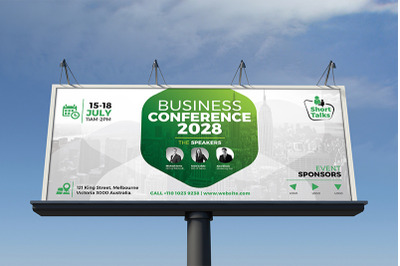 Event Conference Billboard Template