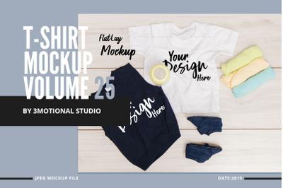 T-Shirt Mockup Volume 25