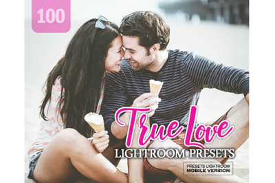 100 True Love Mobile Presets (Adroid and Iphone/Ipad)