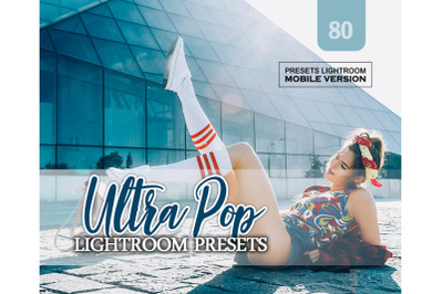 80 Ultra Pop Mobile Presets (Adroid and Iphone/Ipad)
