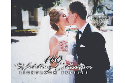 160 Wedding Collection Mobile Presets (Adroid and Iphone/Ipad)