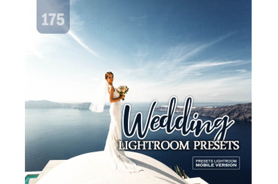 175 Wedding Mobile Presets (Adroid and Iphone/Ipad)