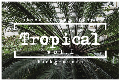 Tropical backgrounds textures pack vol.1