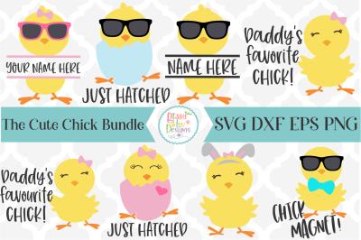 Cute Chicks SVG I Easter SVG Bundle