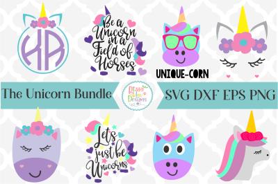 Unicorn SVG I Unicorn SVG Bundle