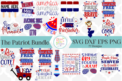 The Patriot SVG Bundle I Fourht of July SVG I USA SVG