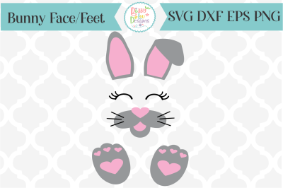 Easter Bunny SVG I Bunny Parts SVG