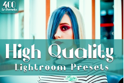 400+ High Quality Lightroom Presets