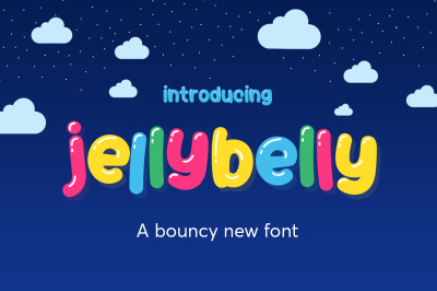 JellyBelly Font