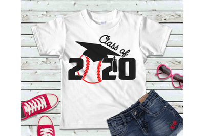 Class of 2020 Senior Baseball SVG, DXF, PNG, EPS, PDF