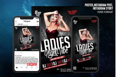 Ladies Night Vibe Club Template