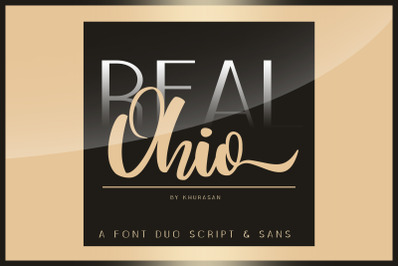Real Ohio Font Duo