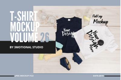 Neo T-Shirt Mockup Volume 26