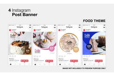 Food Instagram Post