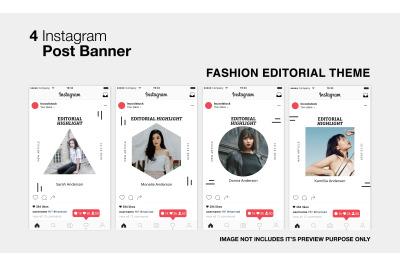 Fashion Editorial Instagram Post