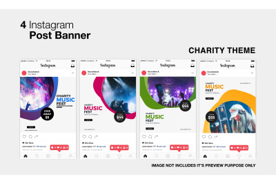 Charity Instagram Post